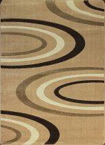 Jakamoz 1061 bézs félkörös szőnyeg 160x220 cm