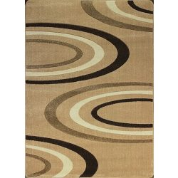Jakamoz 1061 bézs félkörös szőnyeg 240x330 cm