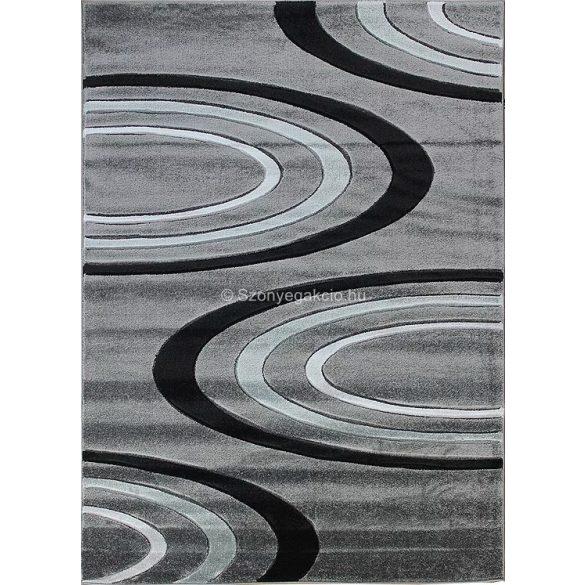 Jakamoz 1061 sötétszürke félkörös szőnyeg 120x180 cm