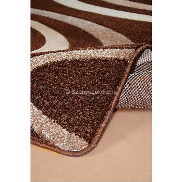 Jakamoz 1352 barna körös szőnyeg 140x190 cm