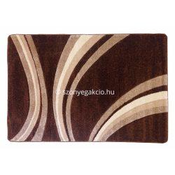 Jakamoz 1353 barna vonalas szőnyeg  80x150 cm - KÉSZLET EREJÉIG!