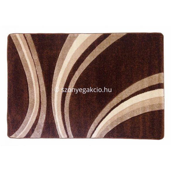 Jakamoz 1353 barna vonalas szőnyeg 120x180 cm