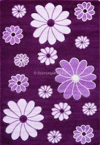 Jakamoz 1259 lila virágos 200x290 cm