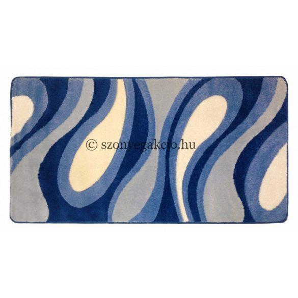 Kék csepp/vízfolyás szőnyeg 160x220 cm