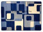 Kék kockás2 szőnyeg 120x170 cm