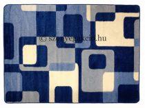 Kék kockás2 szőnyeg   80x150 cm