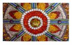 Lábtörlő mozaik 39x69