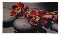 Lábtörlő orchideás2 39x69