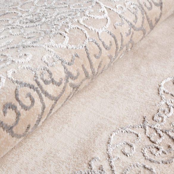 Lara 704 krém modern mintás szőnyeg 160x230 cm