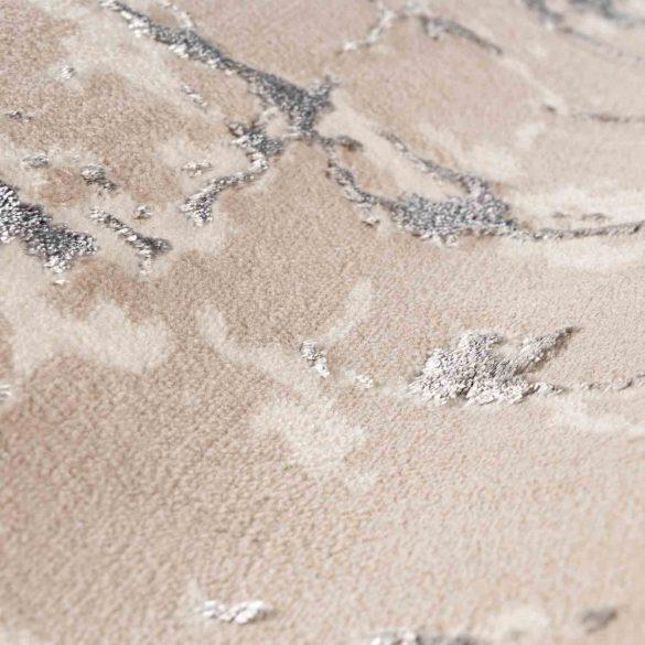 Lara 706 szürke modern mintás szőnyeg 160x230 cm