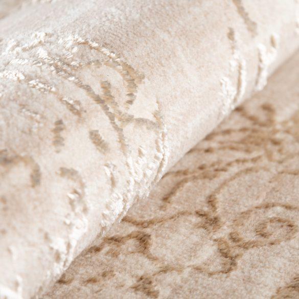 Lara 800 bézs klasszikus mintás szőnyeg  80x300 cm