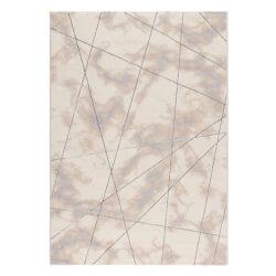 Lara 801 szürke modern geometriai mintás szőnyeg  80x150 cm