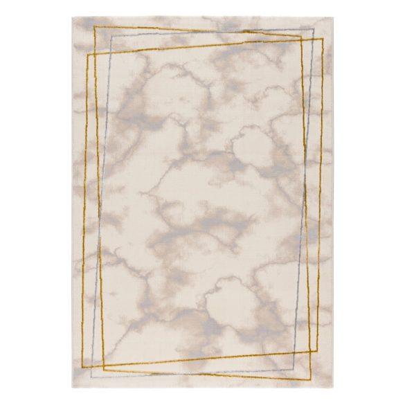 Lara 802 arany modern márvány mintás szőnyeg 200x290 cm