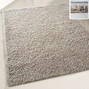 My shaggy 380 beige/bézs színű kerek szőnyeg 120 cm átmérővel