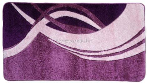 Lila modern vonalas2 szőnyeg  60x110 cm