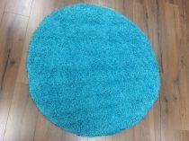SH Loca aqua kék színű kerek szőnyeg 120 cm-es átmérővel