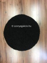 SH Loca black kerek szőnyeg 120 cm-es átmérővel
