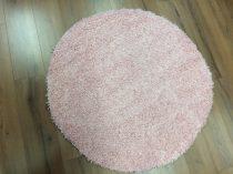 SH Loca világos rózsaszín kerek szőnyeg 120 cm-es átmérővel