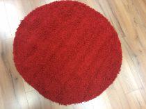 SH Loca piros színű kerek szőnyeg 120 cm-es átmérővel