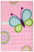 Lollipop butterfly  90x130 cm