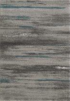 SH Luna 1702 / csíkos mintás szürke színű szőnyeg 120x170 cm