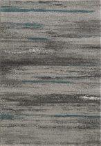 SH Luna 1702 / csíkos mintás szürke színű szőnyeg 160x230 cm