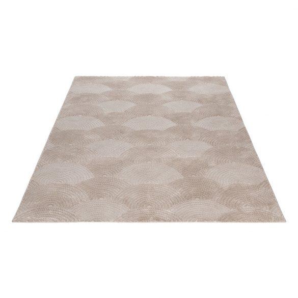 Luxury 6000 bézs modern mintás szőnyeg  80x150 cm
