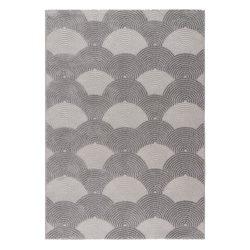Luxury 6000 szürke modern mintás szőnyeg  80x150 cm