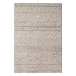 Luxury 6100 bézs modern mintás szőnyeg  80x300 cm