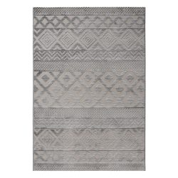 Luxury 6100 szürke modern mintás szőnyeg 200x290 cm