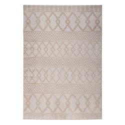 Luxury 6200 bézs modern mintás szőnyeg  80x300 cm