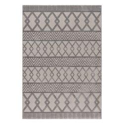 Luxury 6200 szürke modern mintás szőnyeg 120x170 cm