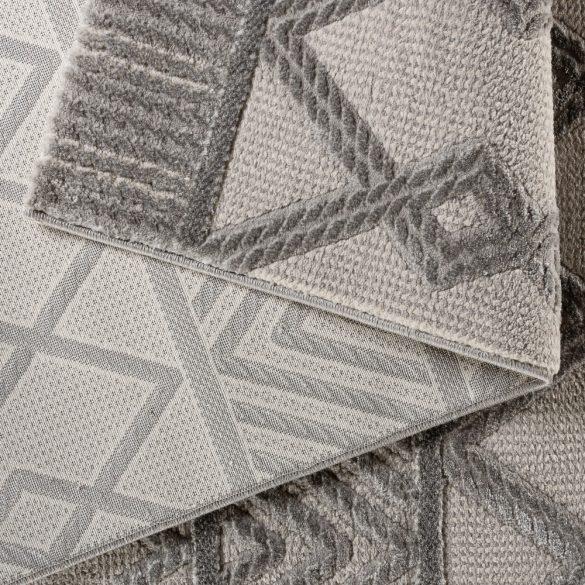 Luxury 6200 szürke modern mintás szőnyeg 160x230 cm