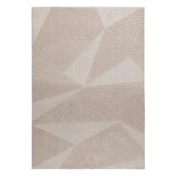 Luxury 6300 bézs modern mintás szőnyeg 200x290 cm