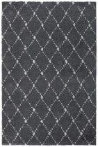 Manhattan 791 anthracite/sötétszürke színű szőnyeg  80x250 cm