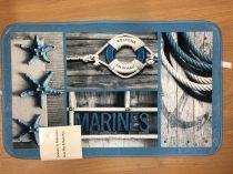 Fürdőszobaszőnyeg Hajós marines 1 db-os 50x80 cm