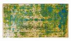 Maya 484 green-blue szőnyeg  80x150 cm - A KÉSZLET EREJÉIG!