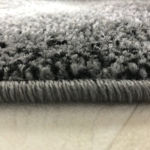 Medusa 1740 Keretes mintázatú szürke szőnyeg  80x150 cm