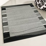 Medusa 1740 Keretes mintázatú szürke szőnyeg 200x280 cm