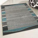 Medusa 1740 Keretes mintázatú türkizkék szőnyeg  80x150 cm