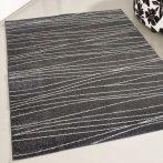 Medusa 1850 Csíkos mintás szürke szőnyeg 120x170 cm