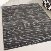 Medusa 1850 Csíkos mintás szürke szőnyeg 160x220 cm