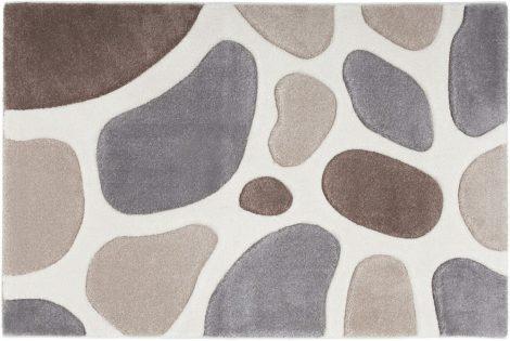 Miami 191 beige szőnyeg  80x150 cm - A KÉSZLET EREJÉIG!