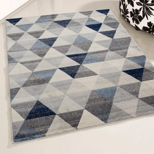 Montana 3710 kék modern mintás szőnyeg 160x230 cm