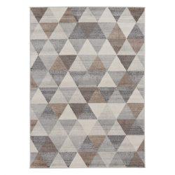 Montana 3710 barna modern mintás szőnyeg 200x290 cm