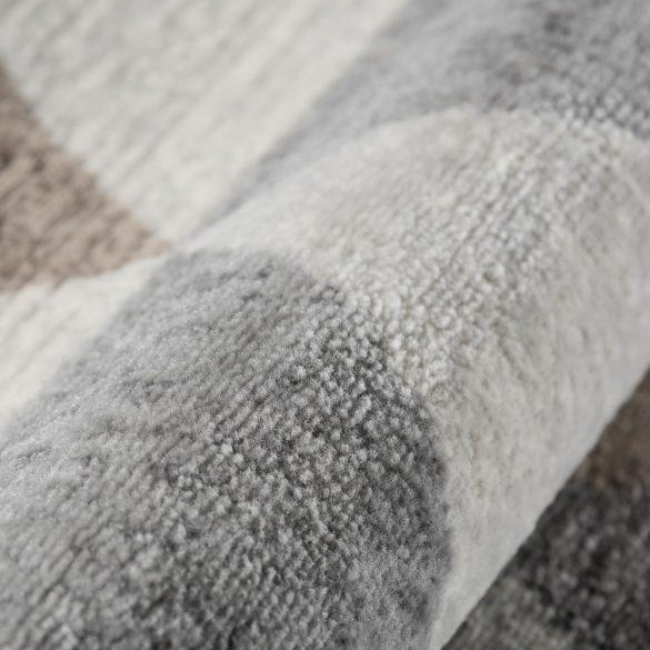 Montana 3710 barna modern mintás szőnyeg 160x230 cm