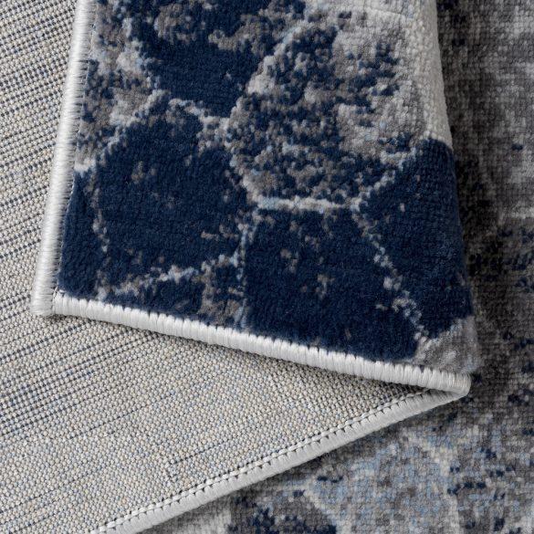 Montana 3712 kék modern mintás szőnyeg  80x150 cm