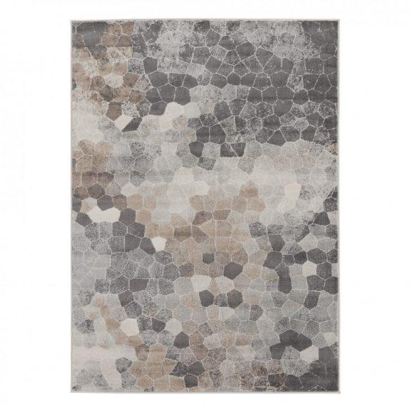 Montana 3712 barna modern mintás szőnyeg 200x290 cm