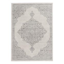 Montana 3724 szürke klasszikus mintás szőnyeg  80x150 cm