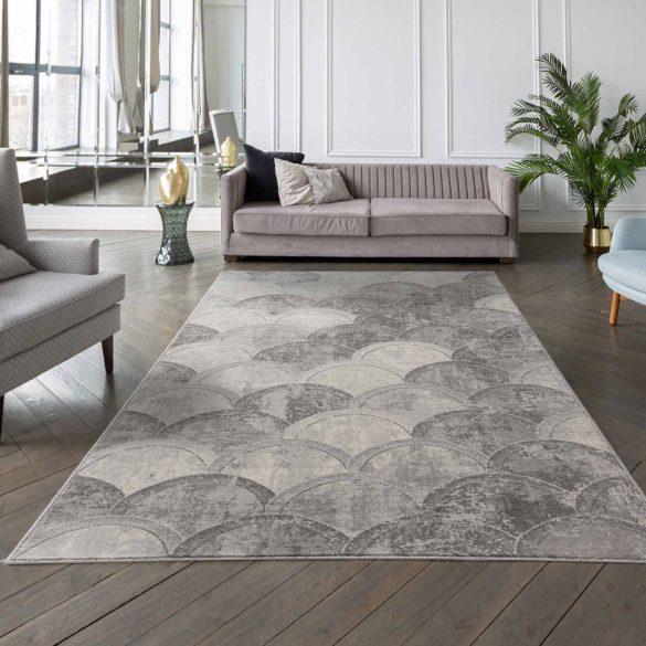 Montana 3730 szürke modern mintás szőnyeg 160x230 cm
